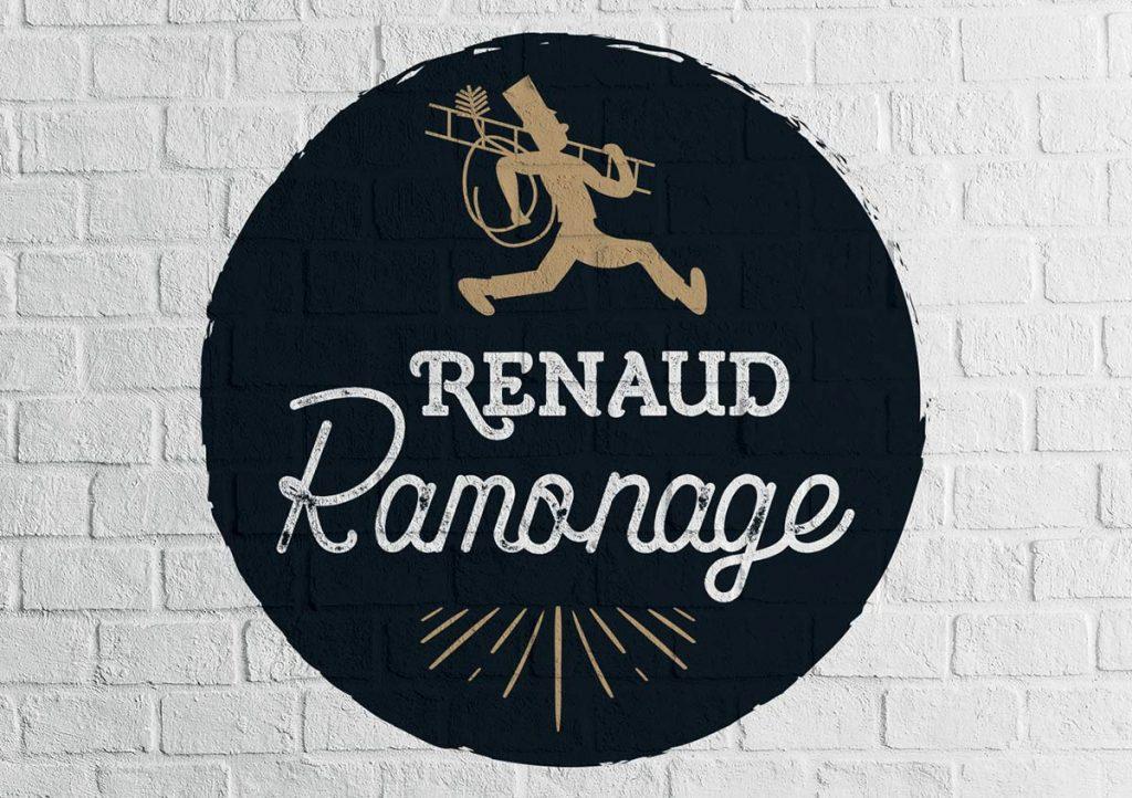 création Vesta : logo Renaud Ramonage